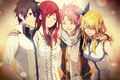 Picture characters, fairy tail, Lucy, grey, Elsa, tale of fairy tail, Natsu, Erza