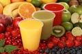 Picture berries, Apple, juices, kiwi, orange, fruit, strawberry