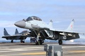 Picture multi-role fighter, The Russian air force, MiG-29 KUB, Deck