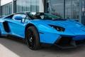 Picture Novitec, Aventador, Lamborghini, Blue, Torado