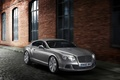 Picture Bentley, The building, Continental, Grey, Auto, The front