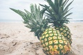 Picture beach, pineapple, sand