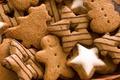 Picture form, cookies, star, herringbone, man