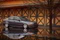 Picture puddle, grey, 325, reflection, BMW, The 3 series, BMW, E46