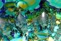 Picture abstraction, background, color, form, Fractal
