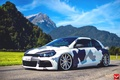 Picture on CVT, Volkswagen, by Eccentrical, Scirocco r, Vossen
