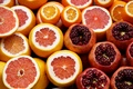 Picture garnet, grapefruit, fruit