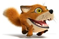 Picture background, widescreen, Wallpaper, Fox, wallpaper, Fox, runs, widescreen, background, funny, funny, full screen, HD wallpapers, ...