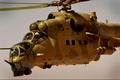 Picture cabin, helicopter, Mi-35, shock