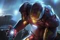 Picture IRON MAN, Iron man, red