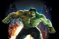 Picture 2008, City, Light, Action, Fantasy, Edward Norton, Fire, Hulk, Flame, Darkness, Green, Body, The, Big, ...