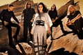 Picture Amy Lee, Evanescence, rocks, group