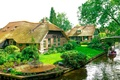 Picture Holland, home, Netherlands, water channel, Giethoorn