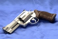 Picture Revolver, Background, Canvas, Smith Wesson, Model 500, Chrome, The handle, 500 S&W Magnum, Model 500, ...