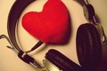 Picture love, music, heart, music, headphones, love, recognition, feeling, 14 Feb, Valentine's day