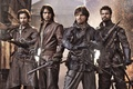 Picture The Musketeers, The series, Luke Pasqualino, The Musketeers, Howard Charles, Tom Burke, Santiago Cabrera