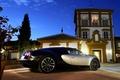 Picture Night, Machine, Bugatti, Light, Veyron, Car, Bugatti Veyron, Car, Wallpapers, Supercar, 16.4, Wallpaper, Back, SuperSport, ...