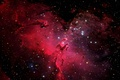 Picture stars, space, shape, nebula