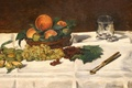 Picture picture, still life, The fruit on the Table, Edouard Manet