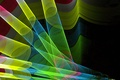 Picture color, the volume, light, line, tube