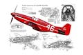 Picture P-51B, scheme, design, North American, fighter, Mustang