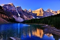 Picture landscape, nature, Banff National Park, Lake Louise, Canada, Lake