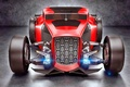 Picture Hot Rod, Concept, Red