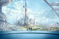 Picture Tomorrowland, fiction, people, Future earth, the city
