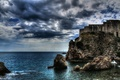 Picture Croatia, panorama, sea, sea, fortress, Fort Lovrjenac, Dubrovnik, Dubrovnik, Croatia, Lovrijenac