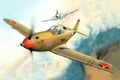 Picture WW2, airacobra, it, Alexander Pokryshkin, aces, lend-lease, set, P-39Q, BBC, the air battle., fly, and ...