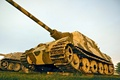 Picture WWII, tank destroyer, Hunting Tiger (H), military equipment
