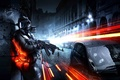 Picture russian, machine, Battlefield 3, soldiers, machine, the city