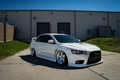 Picture mitsubishi, lancer, evolution, white