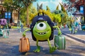 Picture Monsters, Disney, Pixar, Suitcase, Joy, Cap, Mike Wazowski, Monsters university