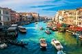 Picture Venice, Italy, city, the city, gondola, channel, Venice, Italy