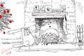 Picture humor, simon's cat, Simon tofield, Simon's cat, cartoon