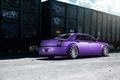 Picture wheels, 300, tuning, rearside, Chrysler, purple, vossen