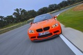 Picture In Motion, Machine, BMW, Orange, The front, Road, GTS, grille, BMW