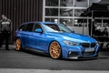 Picture BMW, Blue, BMW, Tuning, F30, BBS, 330d