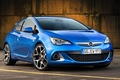 Picture OPS, OPC, background, Astra, drives, Astra, Opel, hatchback, the front, Opel, blue