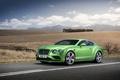 Picture Continental, 2015, Green, Metallic, Bentley, GT Speed, photo, Luxury, Car