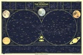 Picture 1957, Heavens, Zodiacs, space, stars, map