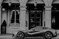 Picture supercar, b/W, ferrari, f12 berlinetta