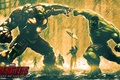 Picture iron man, hulk, marvel, avengers, hulkbuster