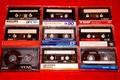 Picture memory, retro, background, nostalgia, audio tapes, film