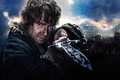 Picture Fantasy, Clouds, Sky, The, Wallpaper, Castle, Baggins, Mountains, Army, The Hobbit, Martin Freeman, Weapon, Man, ...