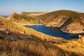 Picture sea, Crimea, home, Balaclava, mountains