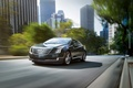 Picture background, ELR, Cadillac, the city, coupe, Cadillac, ELR, the front