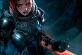 Picture game, the game, armor, FemShep, Shepard, Mass Effect 3, Shepard