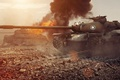 Picture tank, USA, USA, tanks, WoT, World of Tanks, T110E5, Wargaming.Net